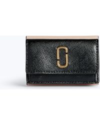 Marc Jacobs - Snapshot Mini Trifold Wallet - Lyst