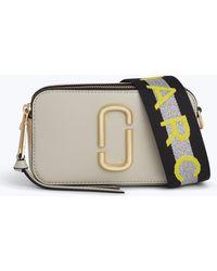Marc Jacobs - Logo Strap Snapshot Small Camera Bag - Lyst