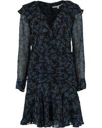 Veronica Beard - Magg Long Sleeve Dress - Lyst