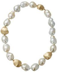 Yvel - Baroque Pearl Necklace - Lyst