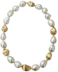 Yvel - Baroque Pearl Necklace - Lyst