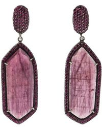 Yossi Harari - Lilah Ruby Slice Earrings - Lyst