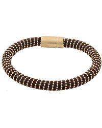 Carolina Bucci - Chocolate Twister Band Bracelet - Lyst