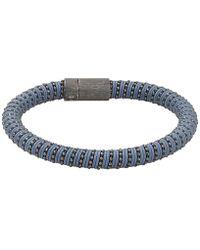 Carolina Bucci - Slate Twister Band Bracelet - Lyst
