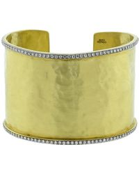 Jordan Alexander - Diamond Edge Cuff Bracelet - Lyst