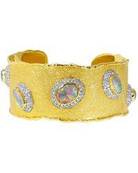 Victor Velyan - Australian Opal Cuff Bracelet - Lyst