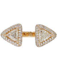Inbar - Trillion Cut Diamond Ring - Lyst