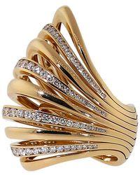 Mattia Cielo | Large Pavone Diamond Ring And Pendant Necklace | Lyst