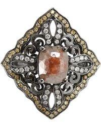 Bochic - Yellow Diamond Ring - Lyst