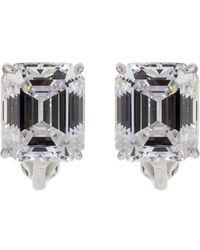 Fantasia Jewelry - Cubic Zirconia Stud Earrings - Lyst