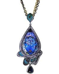 Sevan Biçakci - Carved Peacock Lotus Neckace - Lyst