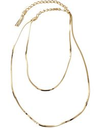 Lanvin | Art Deco Long Necklace | Lyst