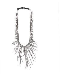 Brunello Cucinelli - Ematite Long Branch Necklace - Lyst