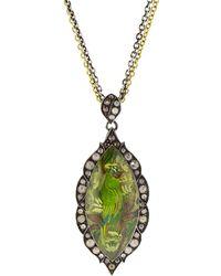 Sevan Biçakci - Carved Parrot Pendant Necklace - Lyst