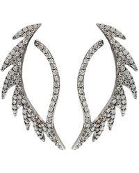 Colette - Diamond Pattern Earrings - Lyst