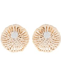 Federica Rettore - Gorgonia Diamond Stud Earrings - Lyst