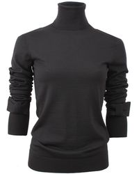 Viktor & Rolf - Turtleneck With Bow Sleeve Detail - Lyst