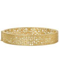 Yossi Harari - Champagne Diamond Lace Cuff - Lyst