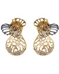 Federica Rettore - Gorgonia Double Use Earrings - Lyst