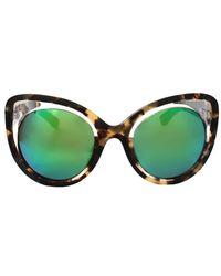 Erdem - Illusion Cat Eye Sunglasses - Lyst
