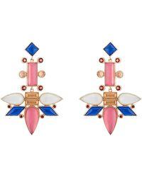 Larkspur & Hawk - Cora Topsy Turvy Chandelier Earrings - Lyst