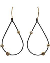 Todd Reed - Openwork Teardrop Diamond Earrings - Lyst