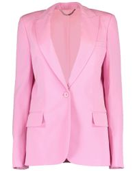 Stella McCartney - One Button Alisa Blazer - Lyst