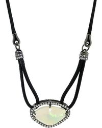 Inbar | Opal Pendant Necklace | Lyst