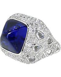 Inbar - Sugarloaf Sapphire Ring - Lyst