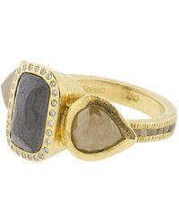 Todd Reed   Three Stone Ring   Lyst