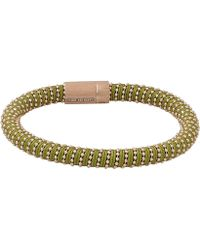 Carolina Bucci - Light Green Twister Band Bracelet - Lyst