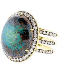 Sylva & Cie - Australian Opal Ring - Lyst