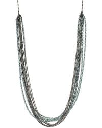 Brunello Cucinelli | Monili Multi Color And Strand Wrap Necklace | Lyst