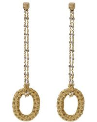 Carolina Bucci - 1885 Yellow Sapphire Link Earrings - Lyst
