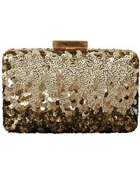 Oscar de la Renta - Rogan Sequin Box Clutch - Lyst