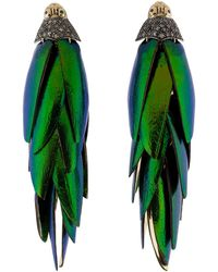 Bibi Van Der Velden - Scarab Bunch Earrings - Lyst