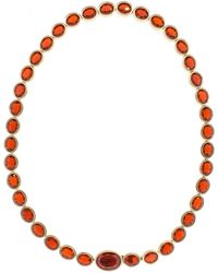 Katherine Jetter - Mexican Fire Opal Necklace - Lyst