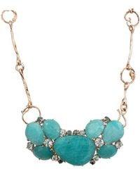 Federica Rettore - Amazonite Necklace With Aquamarines - Lyst