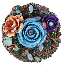 Erickson Beamon - Never Promised You A Rose Garden Pin - Lyst