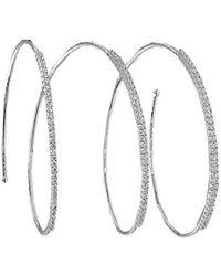 Mattia Cielo - Rugiada Diamond Pave Bracelet - Lyst