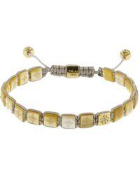 Shamballa Jewels - Pearl Lock Diamond Bracelet - Lyst