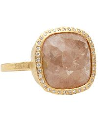 Todd Reed - Pink Fancy Diamond Cocktail Ring - Lyst