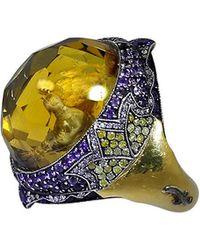 Sevan Biçakci - Carved Doves Ring - Lyst