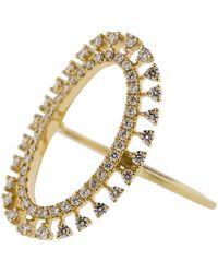 Dana Rebecca - Oval Diamond Ring - Lyst