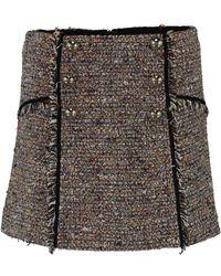 Veronica Beard - Starck Tweed Skirt - Lyst