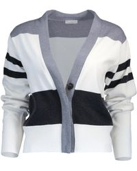 Brunello Cucinelli - Cropped Cardigan - Lyst