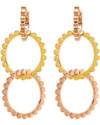 Nancy Newberg - Three Mix Gold Hoop Earrings - Lyst