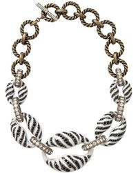 Lanvin - Mina Tiger Chain Necklace - Lyst