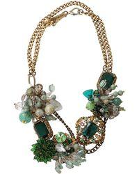Subversive Jewelry - Emerald Wreath Necklace - Lyst