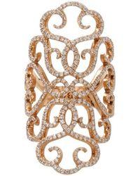 Inbar - Diamond Pave Lace Ring - Lyst